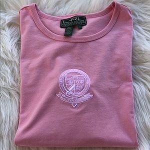 Ralph Lauren Active Pink T Shirt